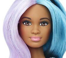 "2016 Barbie NUDE Fashionistas ""Blue Violet"" AA PETITE Doll #42 For OOAK"