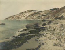 c1910 Hand Colored Photo Gay Head, Martha's Vineyard, Mass by Stanley E Rodgers