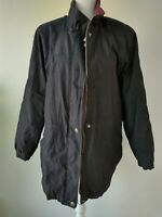 Liz Claiborne Womens Size XL Jacket Black Long Sleeve Lined Zip Up