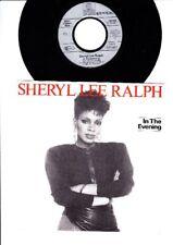 Sheryl Lee Ralph-in the evening-instrumental - 7 inch vinyl single-Europe