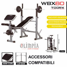 Toorx WBX-60 PANCA PESI RICHIUDIBILE INCL/PIANA+PORTA DISCHI+SUPPORTI BILANCIERE