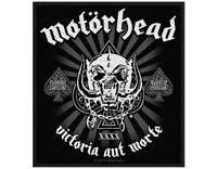 MOTORHEAD victoria aut morte 2015 WOVEN SEW ON PATCH official merchandise LEMMY