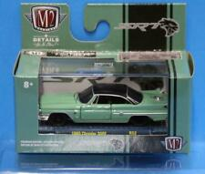 M2 Machines 1:64 Auto-Meets Release 52 1960 Chrysler 300F (Green with black top)