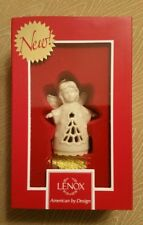 Lenox American By Design Angel Wishes Christmas Tree Bell Ornament New In Box
