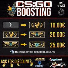 CSGO BOOSTING SERVICE ✔ ACC MM RANK ✔No Steam Account Login ✔ FAST&SAFE Boost