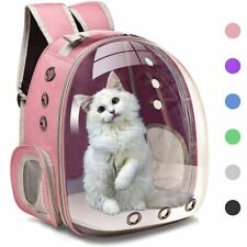 Pet Carriers Small For Dog &Cat Backpack Travel Space Capsule Cage Pet Transport