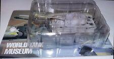 Takara 1/144 World Tank Museum 2 German King Tiger Tank. In winter wash. (#35)