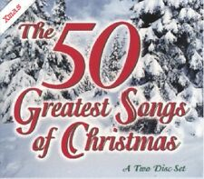 50 Greatest Songs of Christmas by Various Artists Easy Listening Collection CD's