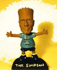 O J Simpson + Bart Simpson = The Simpson! resin + Judge Ito bobbin' head Rare!
