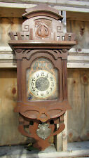 Antique German Wall Clock  Junghans - Jugend Style - 1926s.