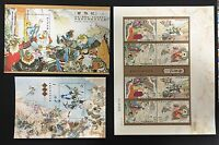 China Stamp 2015-8  Story of Journey to the West S/S M/S & Silk Specimen MNH