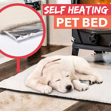 Self-Heated Thermo Thermal Cushioned Pet Dog Cat Bed Mat