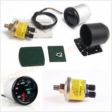 "2""/52mm Round 7-Color LED Car SUV Truck Oil Press Gauge Oil Pressure Meter DC12V"