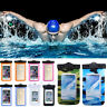 20m Underwater Waterproof Case Fluorescent Cover Bag Dry Pouch For Cell Phone