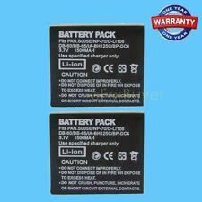 Deal 2pcs DB-60 BJ-6  Batteries Pack For Ricoh Caplio GR Digital, Digital II