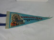 Vintage ROSELAND PARK CANANDAIGUA LAKE NY pennant