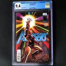 Avengers #12 💥 CGC 9.4 White Pg 💥 Iron Man Infinity Gauntlet Marvel Comic 2011