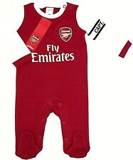849e88996 Arsenal F.c. Sleepsuit 0 3 Mths WT Christmas Gift Xmas for Him Kid Her