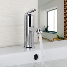 US Stock Single Handle Bathroom/Kitchen Sink Chrome Tap Vessel Faucet Deck Mount
