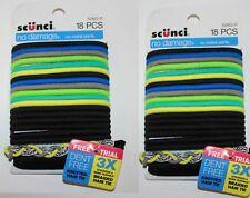 SCUNCI NO DAMAGE NO METAL 18 PCS HAIR TIES 2 PACK