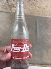 RARE PAY-DAY Beverages Bottle, Canton Beverages ,Canton Mississippi