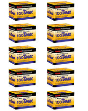 10 ROLLS Kodak TMX 135-36 B&W T-Max 100 35mm Pro Black & White TMX-36 Film