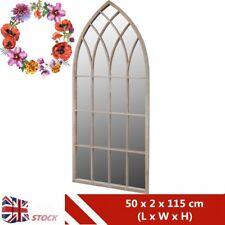 Gothic Rustic Arch Garden Mirror Outdoor Indoor Large Window Mirror Antique UK