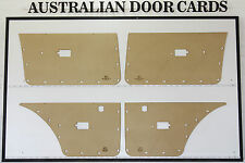 Ford Falcon XE XD. Door Cards. Blank Trim Panels. Sedan, Wagon. Electric Windows