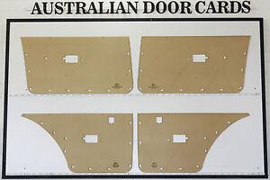 Ford Falcon XE XD. Door Cards. Blank Trim Panels. Sedan, Wagon. Electric Windows