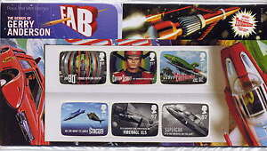 GB 2011 THE GENIUS of GERRY ANDERSON THUNDERBIRDS PRESENTATION PACK No.450
