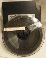 Vintage Scotch 212 90 Minute Reel-to-Reel Tape Low Noise/Dynarange w/ Case (01)