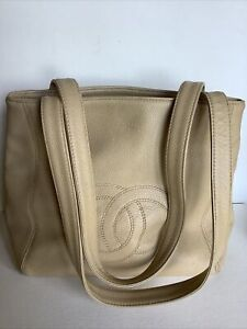 Chanel Vintage CC Shoulder Small Tote 1997-1999 #5666664 Made In France