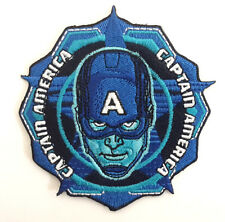 "Captain America Civil War 3"" Wide Blue Patch- FREE S&H (CAPA-15)"