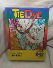 Creativity for Kids Beginning TIE DYE Kit - Brand New & Factory Sealed