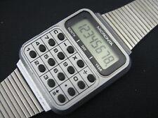 VINTAGE MICRONTA LCD CALCULATOR WATCH - TANDY RADIO SHACK - China