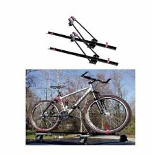 Locking Upright Roof Rack Set of 2 Bicycle Bike Universal Mount Carrier Steel