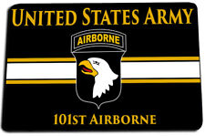 United States Army 101st Airborne Black & Gold Door Mat Gun Cleaning Mat