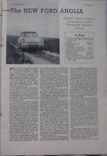 1959 Ford Anglia Original Motor magazine Road test