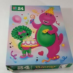 Barney Baby Bop Jigsaw Puzzle 24 pc Milton Bradley Hasbro 1993 4365-10