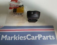 RENAULT MEGANE SCENIC II Central Door Locking SWITCH NEUF & AUTHENTIQUE 7700432969