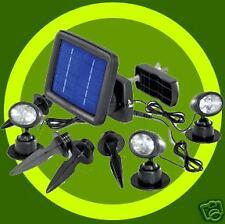 Lot de 3 lampes Spot Projecteur Solaire 3 LEDs - Neuf