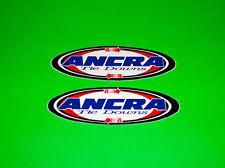 ANCRA TIE DOWNS MOTORCYCLE CRUISER SCOOTER MOTOCROSS ATV QUAD UTV STICKERS DECAL
