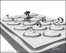 Ladenausstattung & -werbung Verkaufsständer Ringaufsteller Ringständer Ringhalter Schmuckdisplay Stabile Ausführung Schräg Hohe Belastbarkeit