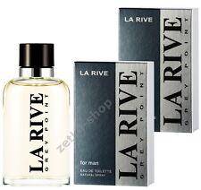 2x90ml = 180ml !!!  LA RIVE GREY POINT Eau de Toilette zum absoluten Hammerpreis