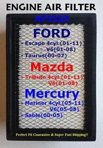 Ford Mazda Mercury Quality Air Filter AF5323 Escape Taurus/ Tribute/ Mariner^o^!