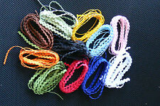 Ric Rac BABY BRAID 1/8 inch size - 2 Metre each of 12 Colours as per picture