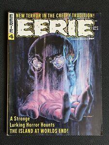 EERIE  Magazine  #4  July 1966 Warren Publishing  Gray Morrow Cover
