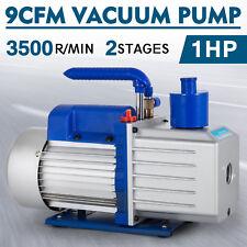Vevor bomba de vacio - 254 litros / min aire acondicionado 9cfm 2 etapas 1hp