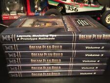 6 DREAM PLAN BUILD VIDEO DVD ROM layouts Tips Prototype Railroads 2-6 Free Ship