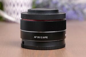 Samyang AF 35mm F/2.8 FE Lens for Sony E-mount with Caps